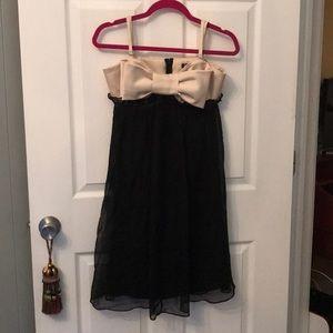 Betsy Johnson Evening Bow Slip Dress